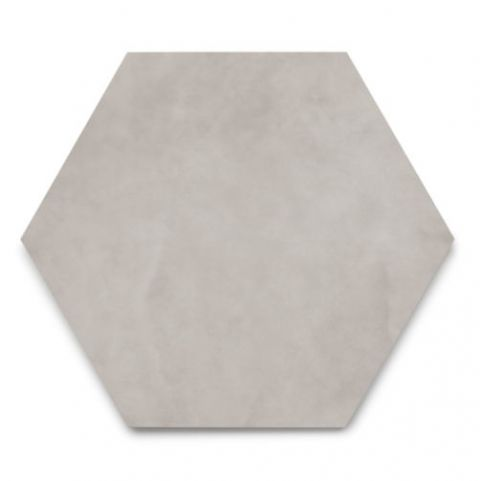 Porcellanato Hexágono Cemento 17.5 x 20 Cm Acuarella
