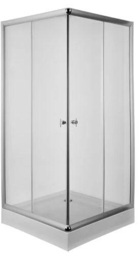 Box Ducha Recto Con Receptáculo 80 x 80 Cm Gorena Agua