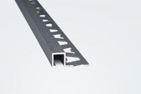Guardacanto Quadra 10 x 10 mm x 2.5 Mts Stone Concreto Atrim