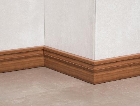 Zócalo Line EPS 70 mm x 2.50 mts Canela Atrim