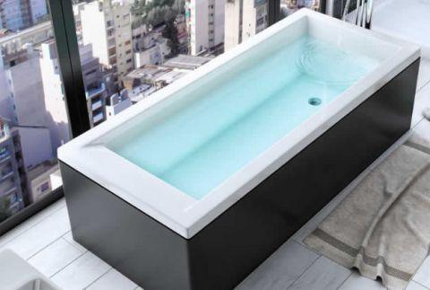 Bañera Moderna 1500 x 700 x 415 mm Con Greensir Bagnara